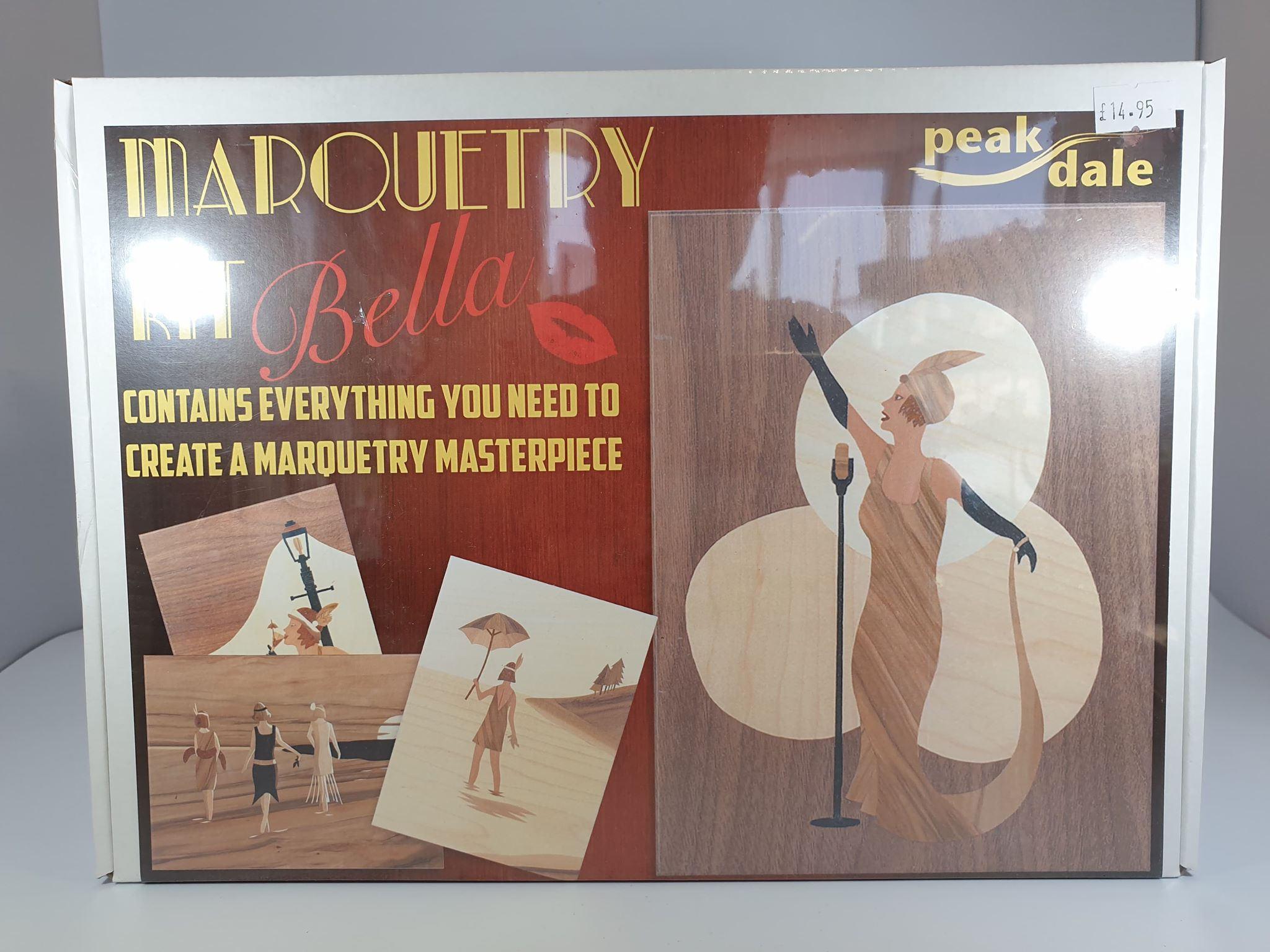 Marquetry Kit - Bella