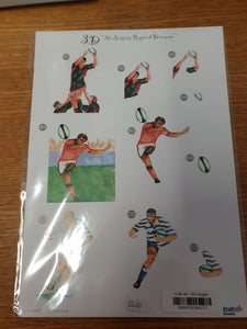 Football Decoupage Sheet