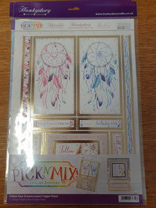 Dreamcatcher Card Toppers