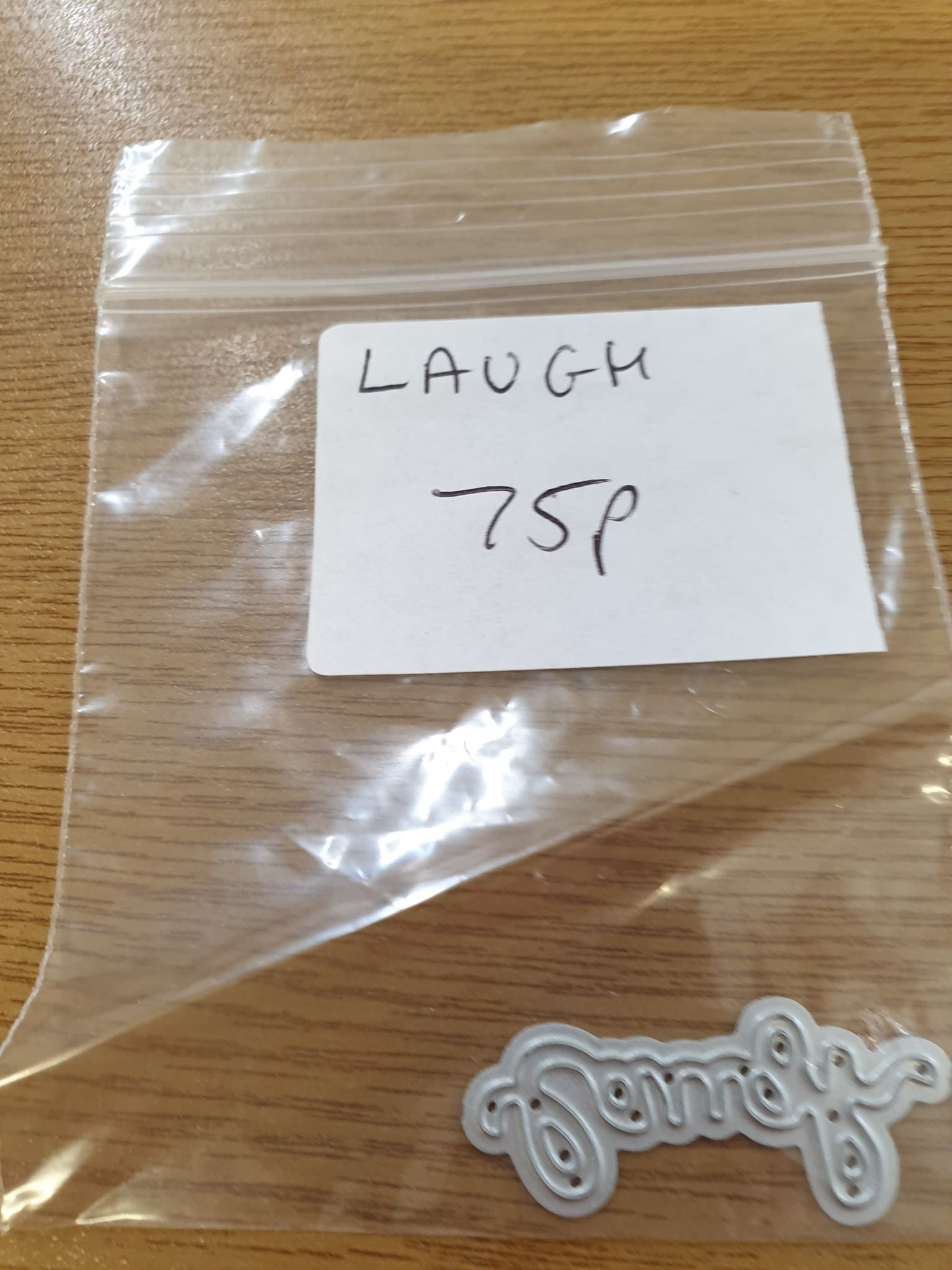 "Sentiment Die ""Laugh"""