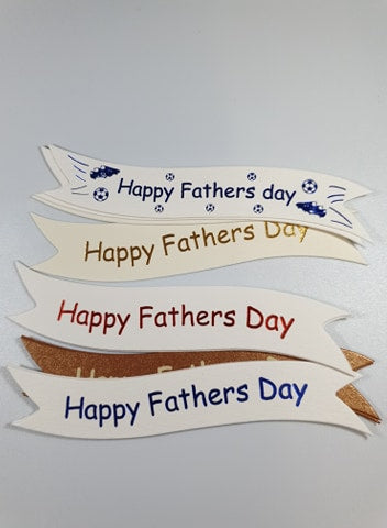 Mixed Father's Day Toppers
