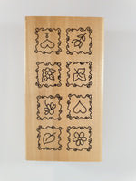 Load image into Gallery viewer, Wooden Flower Stamp
