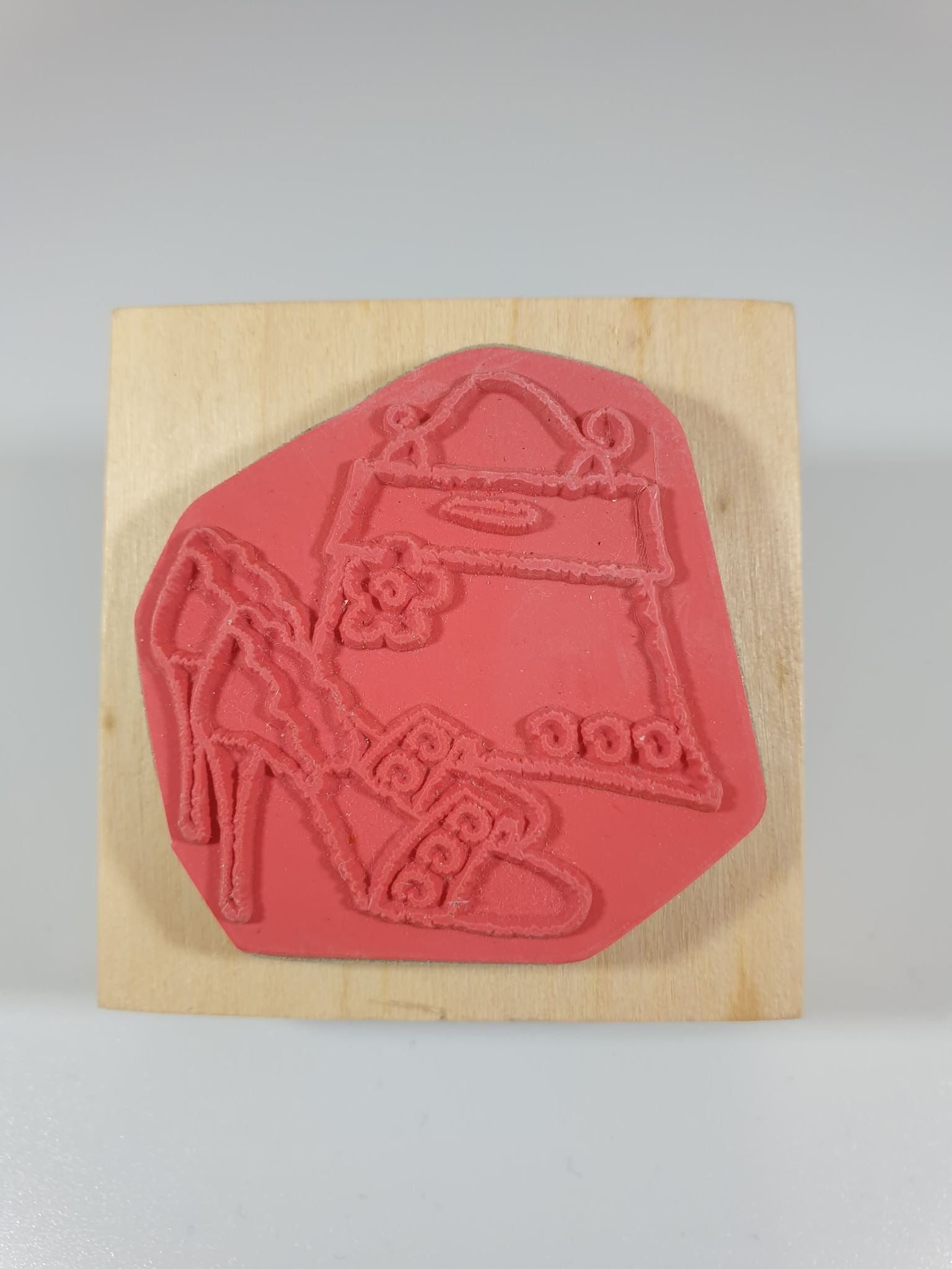 Fashion Rubber Stamp