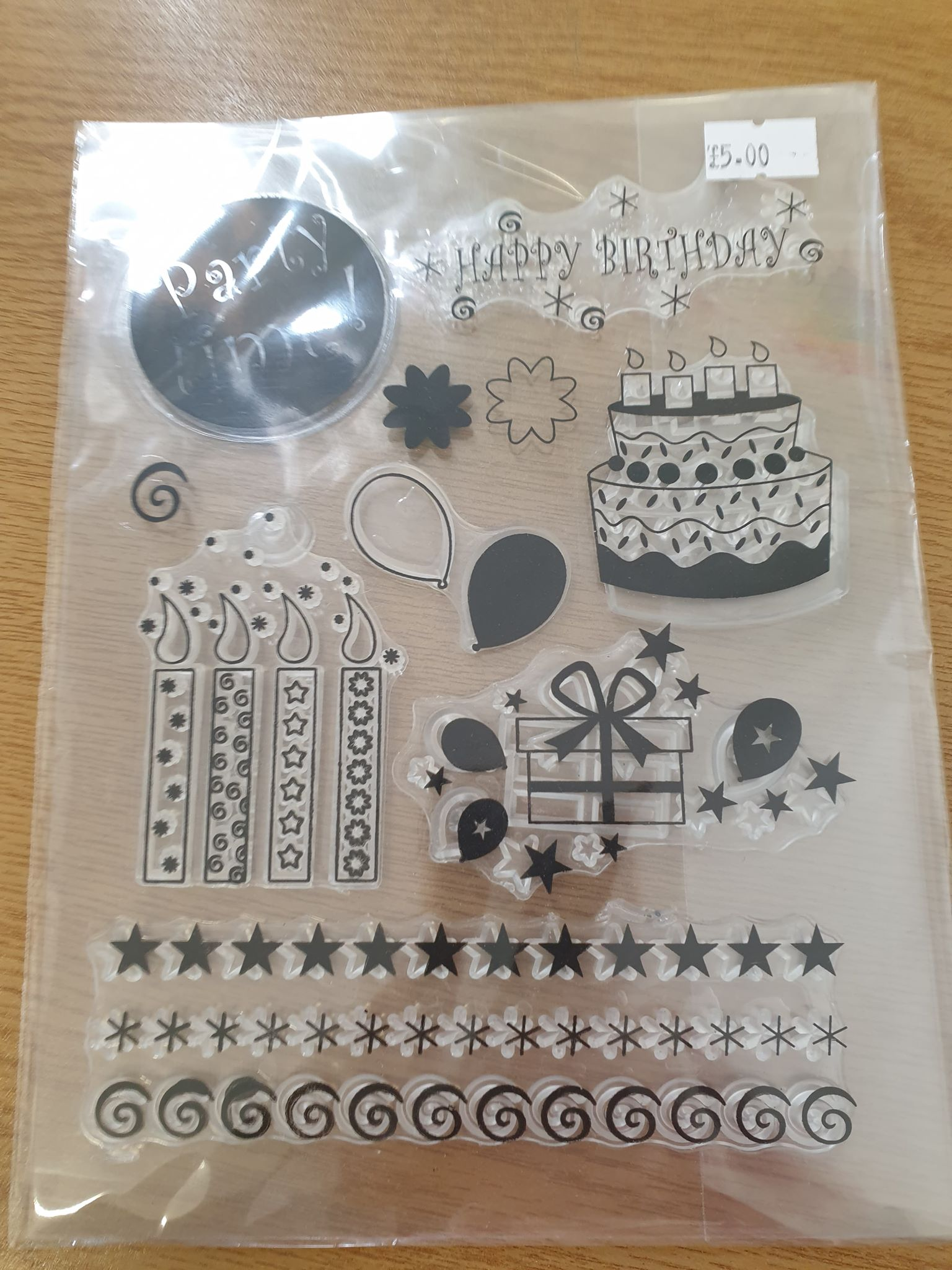 Birthday Silicone Stamps
