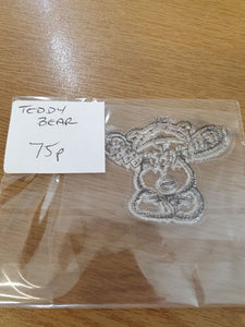 Teddy Bear Silicone Stamps