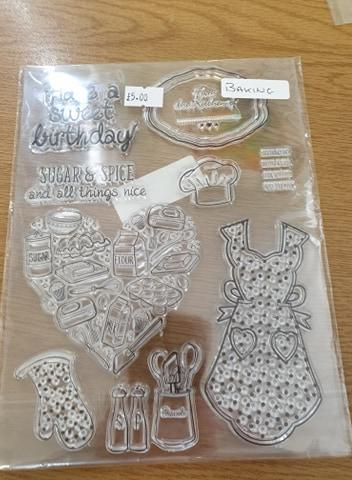 Baking Silicone Stamps