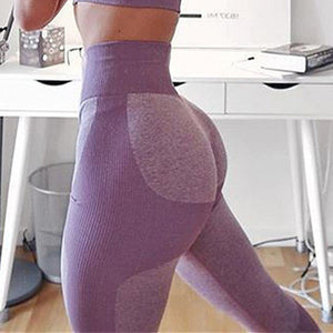 Yoga Pants Women Gym Leggings Female Sexy High Waist Workout Tights Jogging Wear Women Seamless Leggings Sports Pant For Fitness