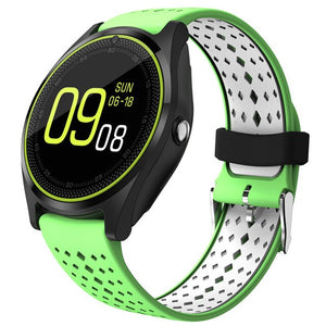 Beseneur Bluetooth Smart Watch V9 with Camera Smartwatch Pedometer Health Sport Clock Hours Men Women Smartwatch For Android IOS