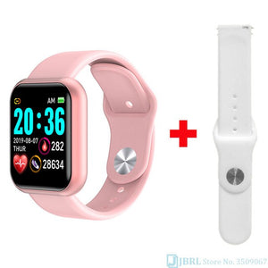 digital watch women health color digital watches lady fitness band bracelet bluetooth waterproof girls led colck blood pressure