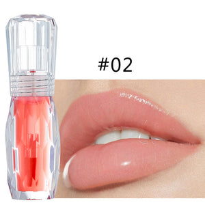 HANDAIYAN New Arrival Natural Mint Waterproof Crystal Jelly Lipgloss Long lasting Moisturizing Lip Gloss Liquid Lipstick
