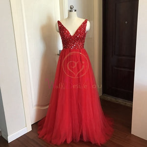 Prom Dresses  Pink High Split