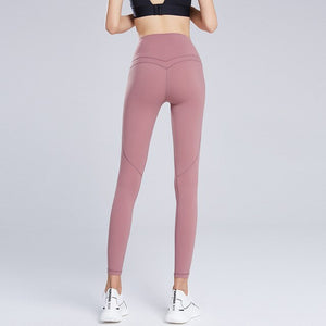Wmuncc Yoga Pants Women High Waist Fitness Leggings Sports Gym Wear Clothing Squat Proof Workout Tummy Control Sexy Butt