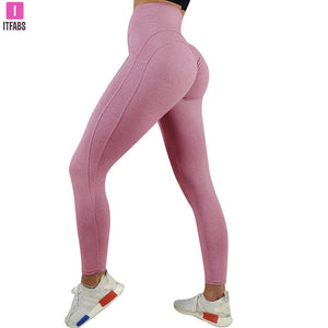 Workout Clothing High Sexy Push Up Leggings Women Waist Leggins Female Breathable Patchwork Fitness Pants ladies Gym Sports
