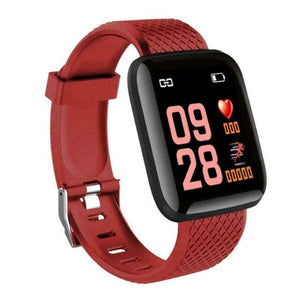 Waterproof Touch Screen Bluetooth Sport Smart Watch Women Men Unisex Health Fitness Activity Tracker Wrist Band Bracelet