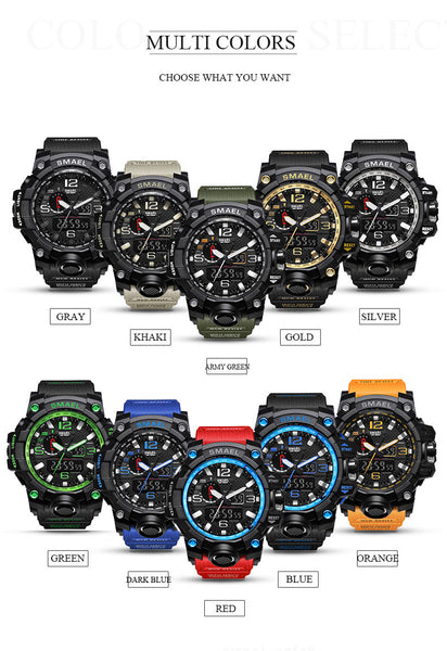 Different watch color variants