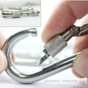 Carbine & Stainless Steel Carabiner - Snap Hooks