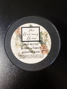 The Nutmeg Home Signature Scent Body Butter
