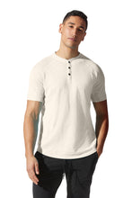 Load image into Gallery viewer, Legend Henley | Short Sleeve in Soft Slub Jersey