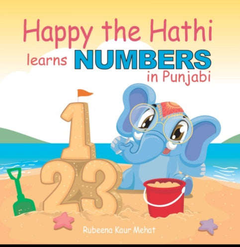 Happy the Hathi learns Numbers in Punjabi