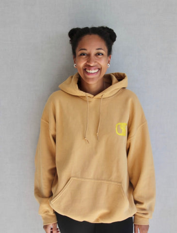 gold superb hoodie sustainable diversity