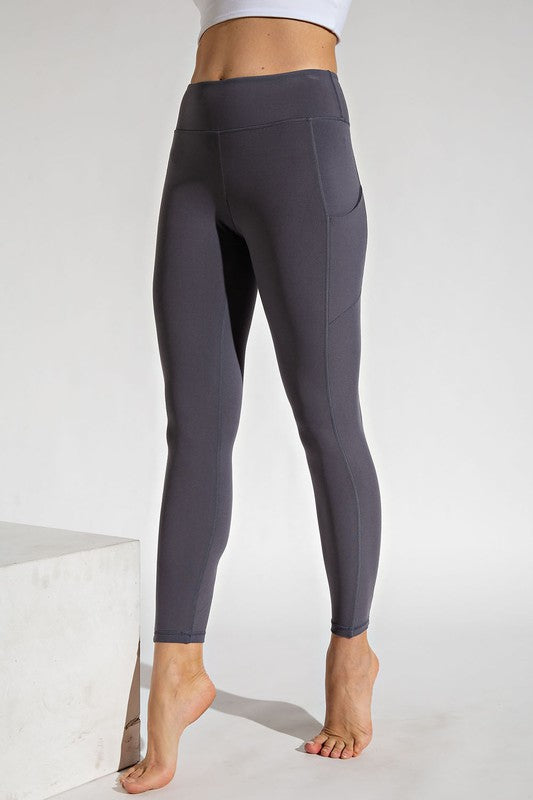 Buttery Soft Leggings with Side Pockets