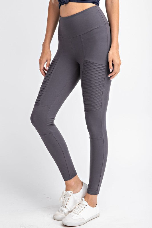 Buttery Soft Athleisure Moto Leggings
