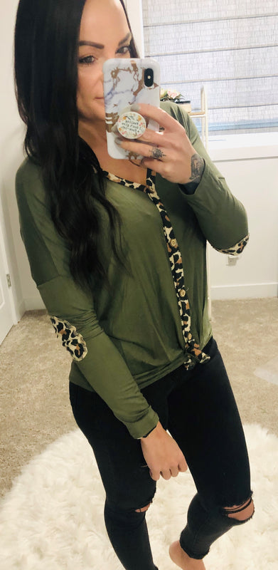 Sounds like Fun - Leopard Long Sleeve