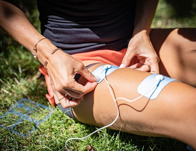 This is Bluetens, the connected electrostimulation device improving your wellness.