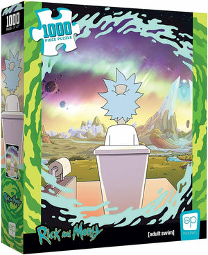 Jigsaw Puzzle Rick & Morty 19 by 27 Inch Puzzle 1000 Piece - Shy Pooper