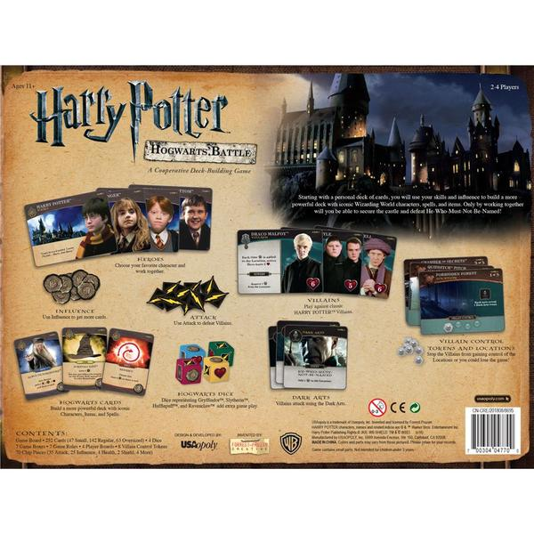 Hogwarts Battle Deck Building Game