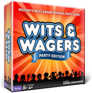 Wits & Wagers Board Game | Party Edition, Kid Friendly Party Game and Trivia