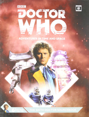 Dr Who 6th Dr Sourcebk Hardcover