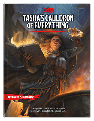 Tasha's Cauldron of Everything (D&D Rules Expansion) (Dungeons & Dragons) (Hardcover)