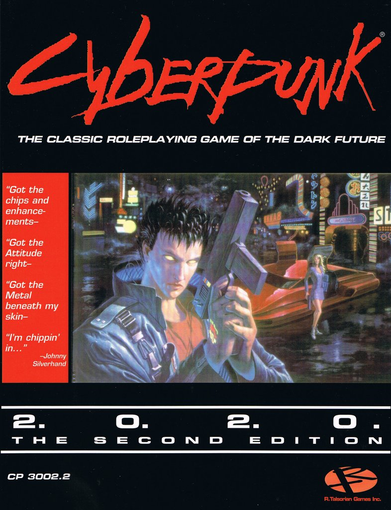 Cyberpunk 2020: Second Edition Core Rulebook