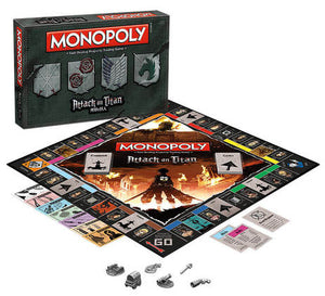MONOPOLY: ATTACK ON TITAN