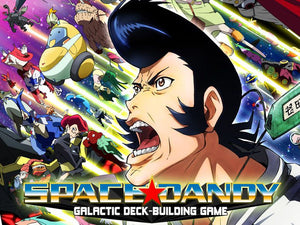 Space Dandy: Galactic Deck-Building Game (2016)