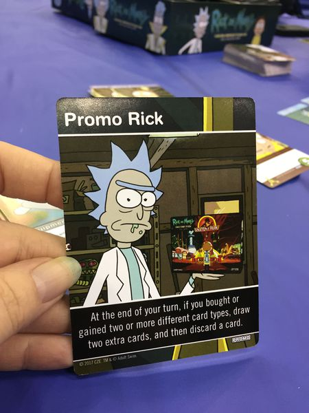Rick and Morty: Close Rick-Counters of the Rick Kind Deck-Building Game (2017)