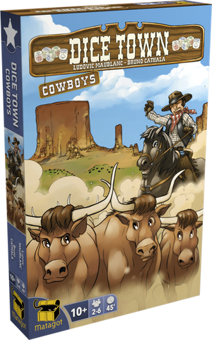 Dice Town: Cowboys (2017) Expansion