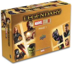 Legendary: A Marvel Deck Building Game – Marvel Studios, Phase 1 (2018)