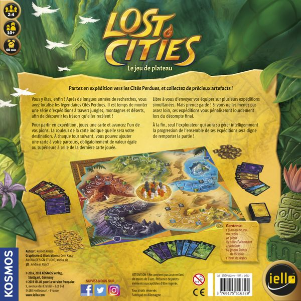 Lost Cities: The Board Game (2008)