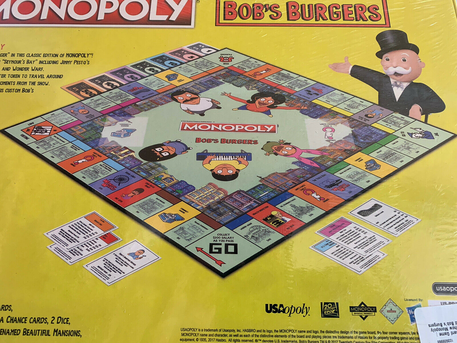 MONOPOLY®: Bob's Burgers Board Game USAopoly