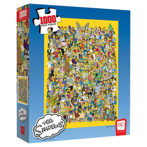 Simpsons Cast Thousands 1000pc