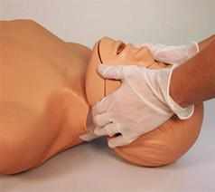 Jaw Thrust Brad CPR Manikin With Carry Bag With Kneeling Pads