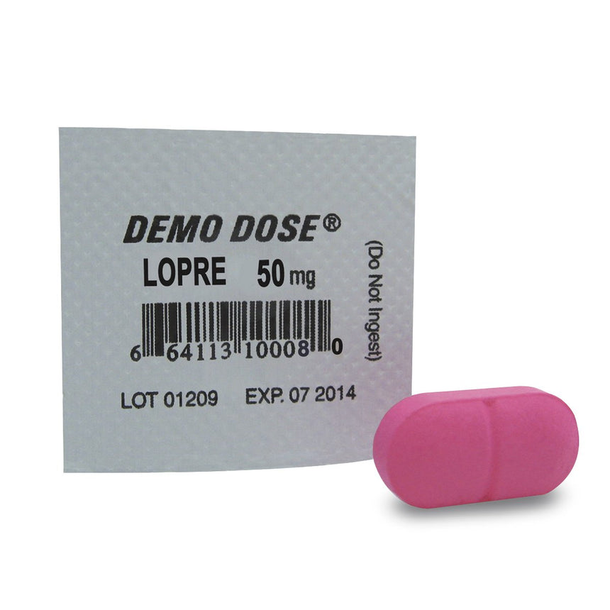 Demo Dose® Oral Medications - Lopre - 50 mg