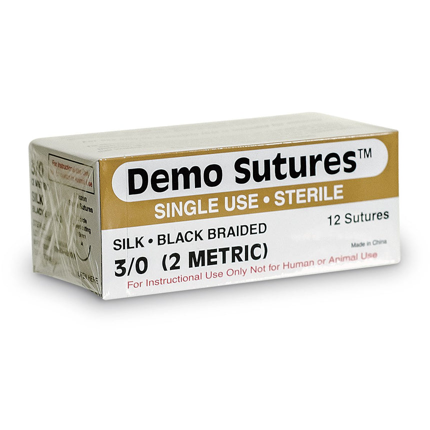 Nylon Sutures - Pack of 12