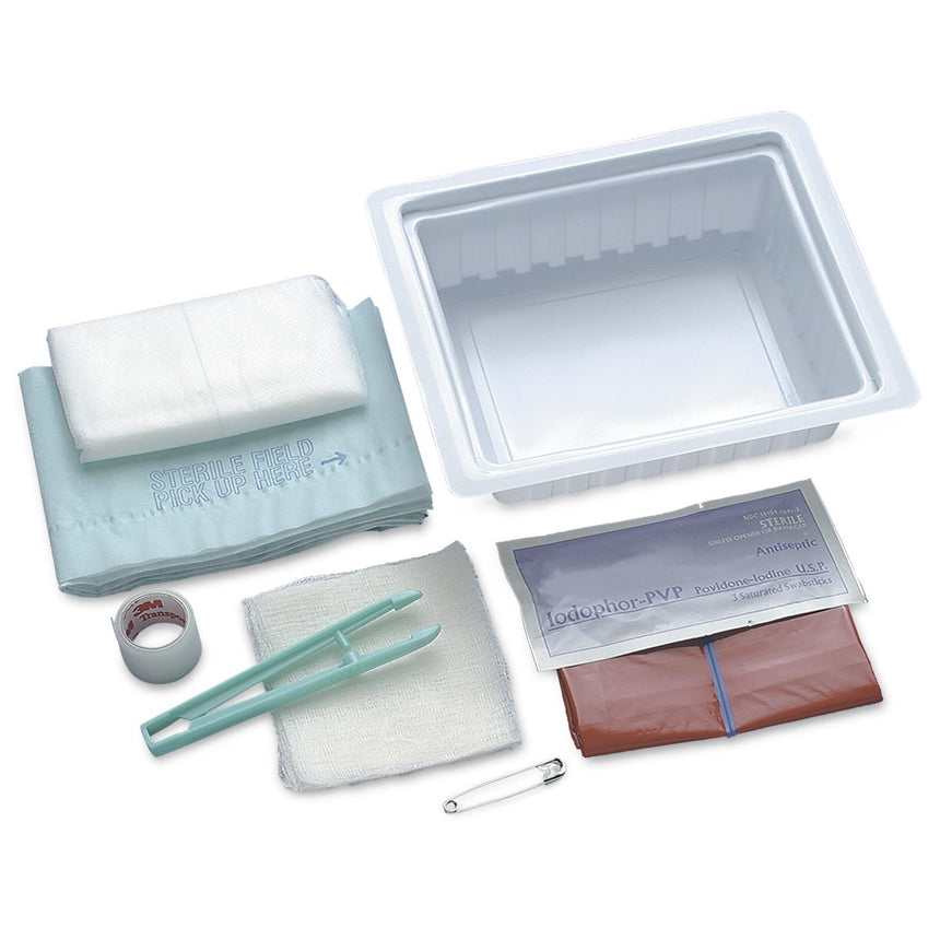 Dressing Change Tray with Abdominal Pad