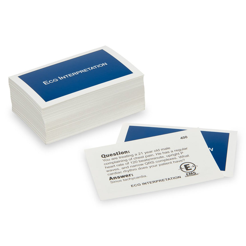 EMS CHALLENGE™ Supplemental Cards - ECG Interpretation