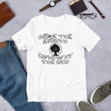 Save The Earth, Compost the Rich - Climate Change T-Shirt
