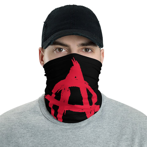 Anarchist Circle A - Anarchism Face Mask