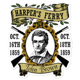 Harpers Ferry Raid Memorial - John Brown, Abolitionist, American History Sticker